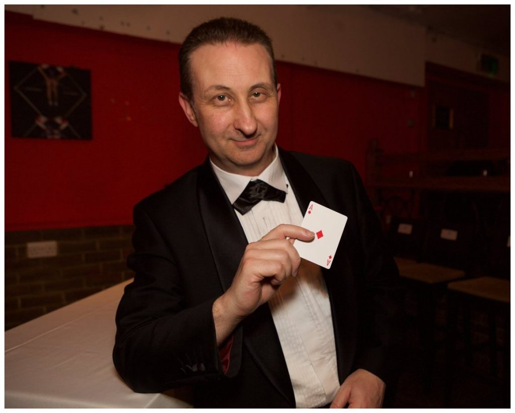 Local magician near you. Gloucester Andy Field